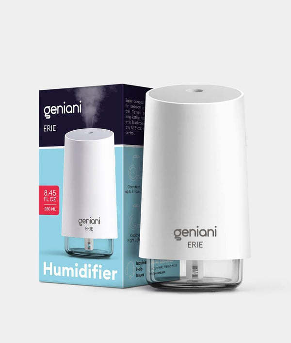 Erie Travel USB Humidifier 250ML White