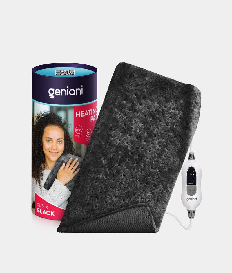 Extra Large Electric Heating Pad XL Black