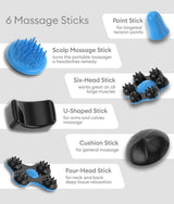 Rock Massager Black