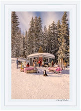 Load image into Gallery viewer, Buckhorn Cabin, Aspen Mountain - Framed (small)