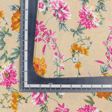 Load image into Gallery viewer, Pink Floral Pattern Cotton Fabric