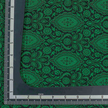 Load image into Gallery viewer, Green Traditional Design Woven Banarasi Fabric