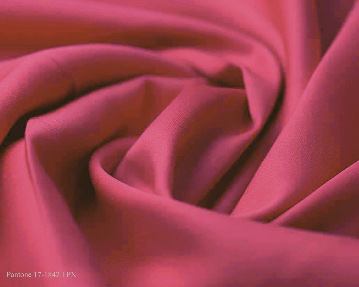 Pink Cotton Satin Plain Dyed Fabric