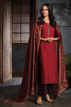 Load image into Gallery viewer, Red Russian Silk Kurta with Bemberg Silk Dupatta