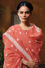 Load image into Gallery viewer, Cotton Dobby Kurta with Cotton Jacquard Dupatta