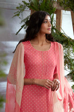 Load image into Gallery viewer, PINK Cotton Satin Kurta