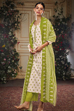 Load image into Gallery viewer, Cotton Kurta with Mal Cotton Dupatta