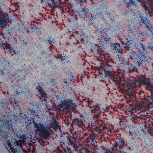 Purple Textured Pattern Rayon Fabric