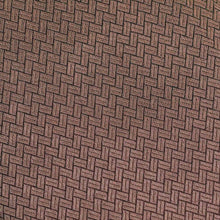 Load image into Gallery viewer, Brown Geometric Pattern Woven Zari Banarasi Fabric
