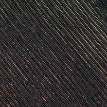 Load image into Gallery viewer, Black Striped Pattern Woven Banarasi Fabric