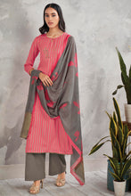 Load image into Gallery viewer, PINK Cotton Satin Kurta with Bemberg Lawn Dupatta