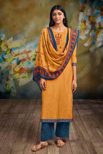 Load image into Gallery viewer, Yellow Bemberg Silk Kurta with Lawn Printed Dupatta