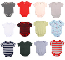 Load image into Gallery viewer, Goodway Pack Of 5 Assorted Bodysuit For Babies