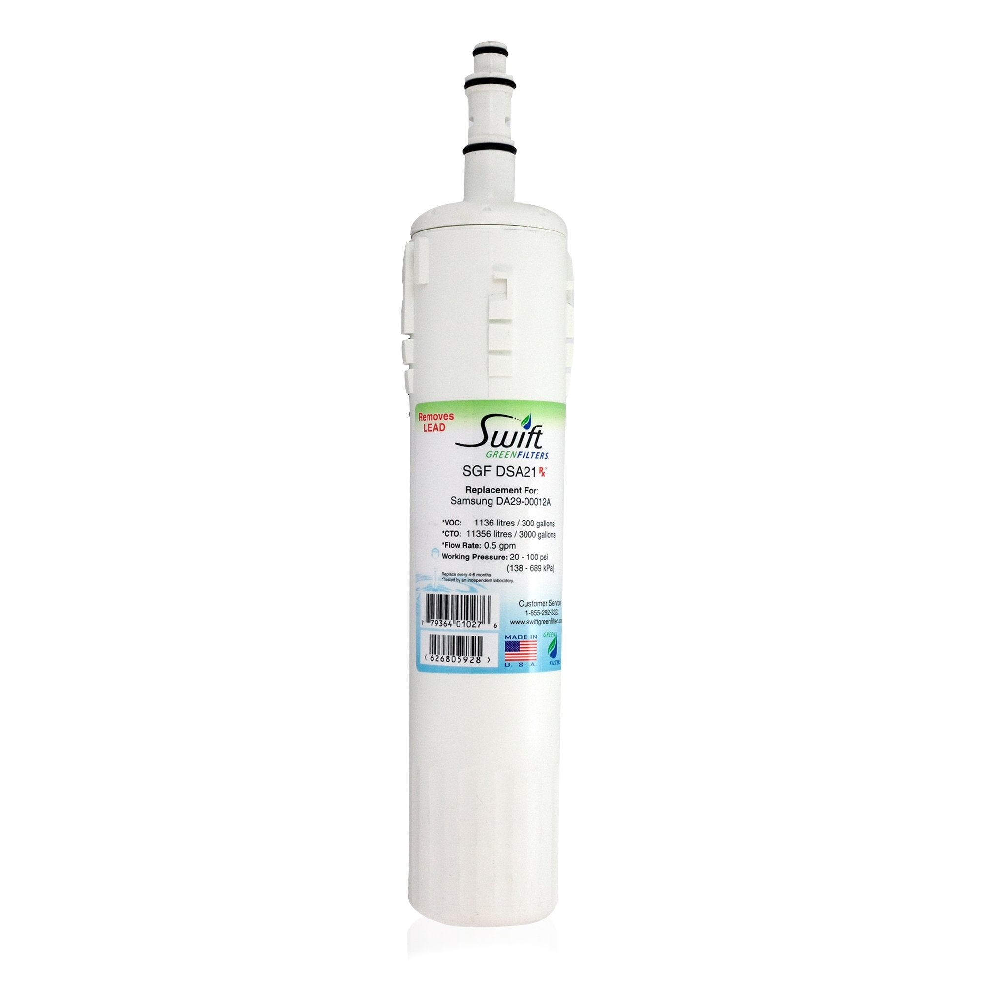 Samsung DA29-00012A,DA29-00012B  Pharmaceutical Replacement Refrigerator Filter