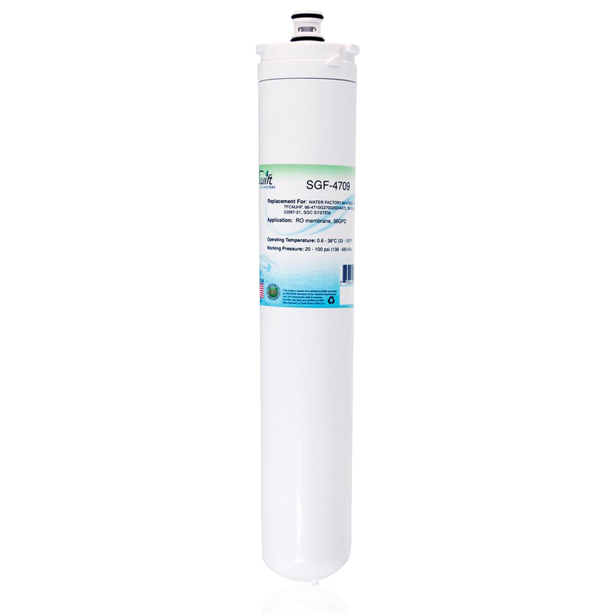 Replacement for 3M Water Factory 66-4709G2 Filter by Swift Green Filters SGF-4709