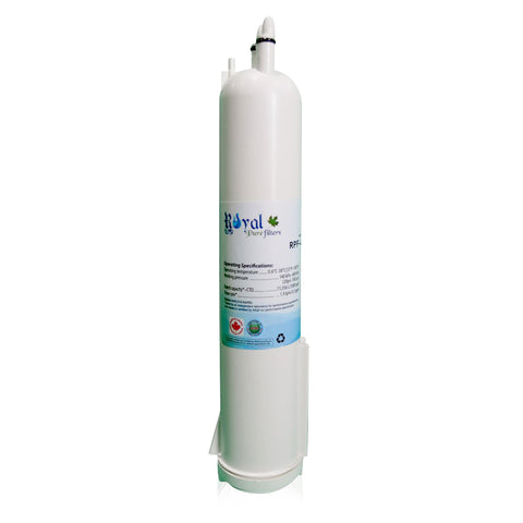 Whirlpool 4396841,4396710,EDR3RXD1,EFF-6016A,EDR3RXD1,FILTER 3 Compatible CTO Refrigerator Water Filter (Authorized to sell only in Canada)