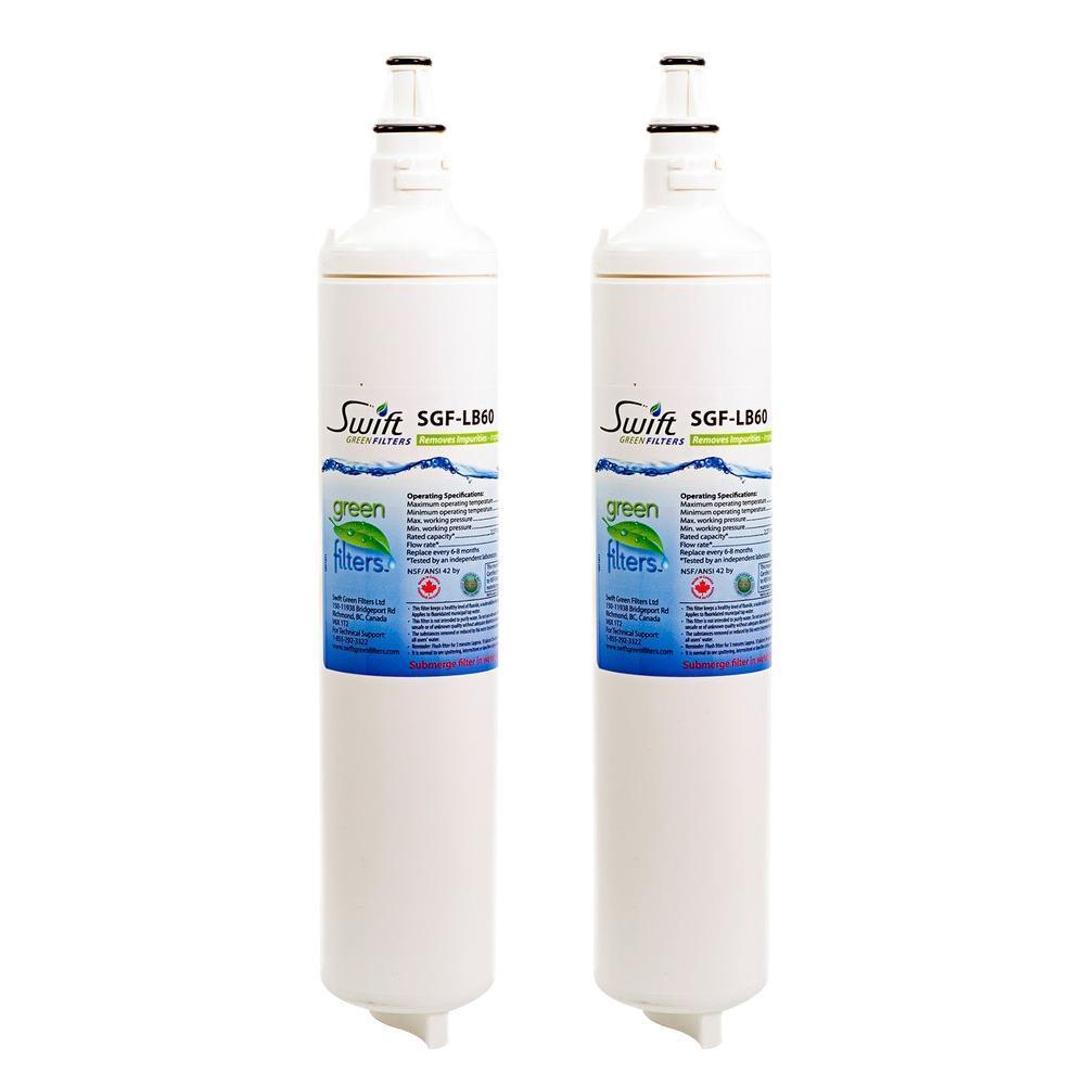 EcoAqua EFF-6003A,EFF-6004A Compatible VOC Refrigerator Water Filter - The Filters Club