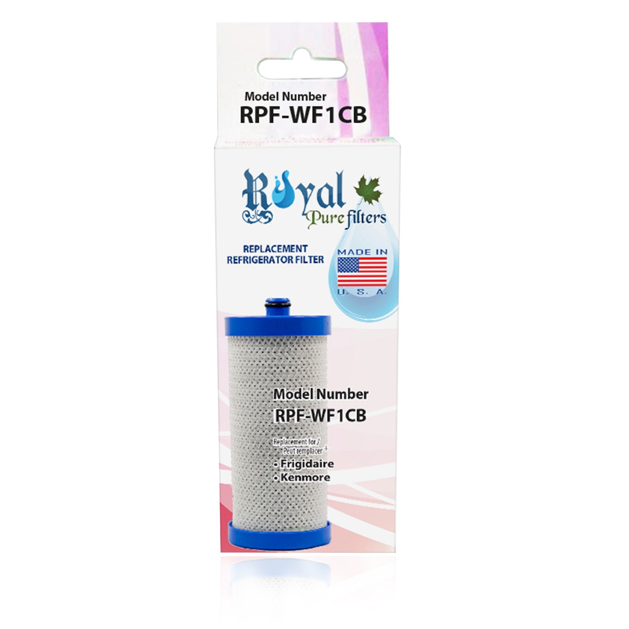 Aqua Fresh WF284 Compatible CTO Refrigerator Water Filter