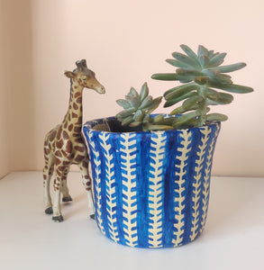Blue Planter | Stationery Holder | DUstbin