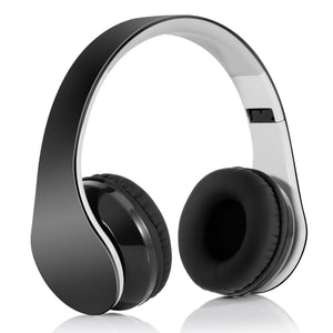 Wireless Headphones, Hands-free w Mic Headset Foldable /></a><p style=