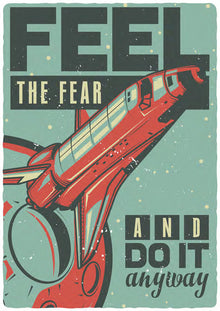 FEEL THE FEAR-KT129800