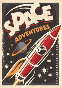 SPACE ADVENTURES COLOR-KT129300