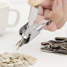 Load image into Gallery viewer, Stainless Steel Pincer Clamp Seed Sheller