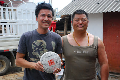 Yours truly with Zhu Ke Cheng