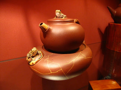 Yixing teapot for sale at Lock Cha tea shop