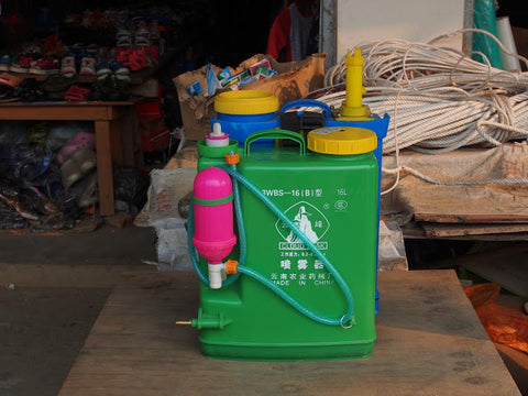 Spraying kit for herbicide & insecticide, for sale in Bulang town