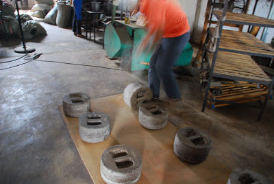 Stone weights to press puer bings