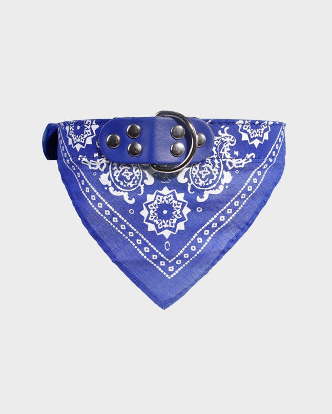Red Pet Bandana Collar
