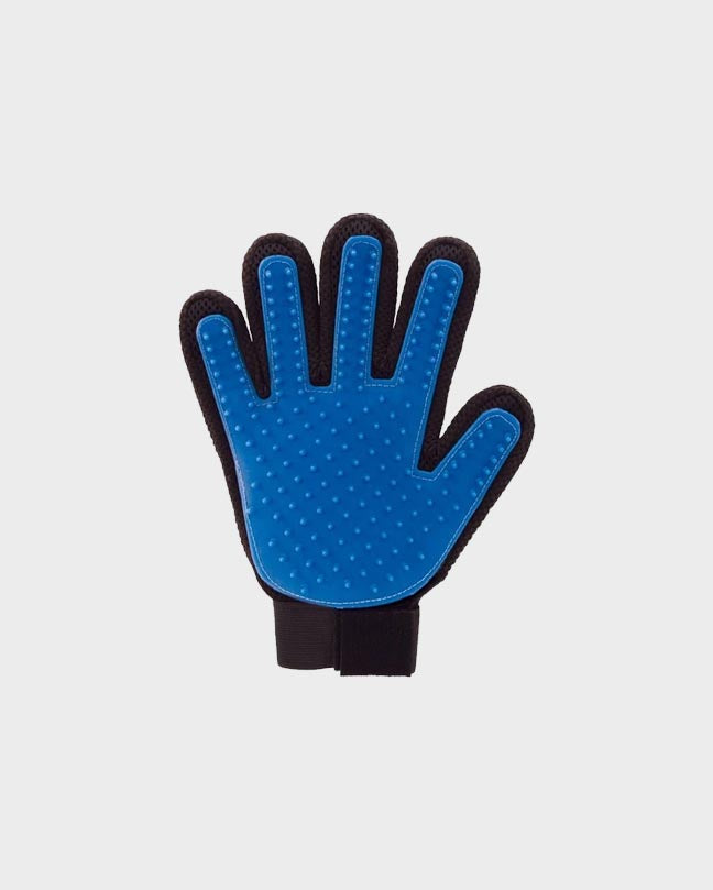 Red Pet Grooming Glove