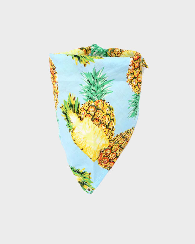 Pink Pineapple Pet Bandana