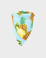Blue Pineapple Pet Bandana