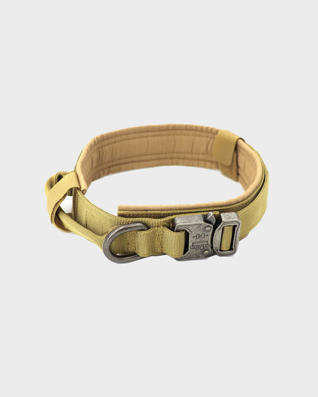 Black Military Pet Collar