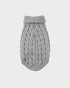 Grey Knitted Pet Sweater