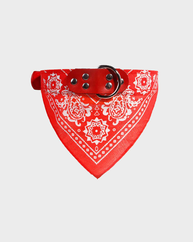 Blue Pet Bandana Collar