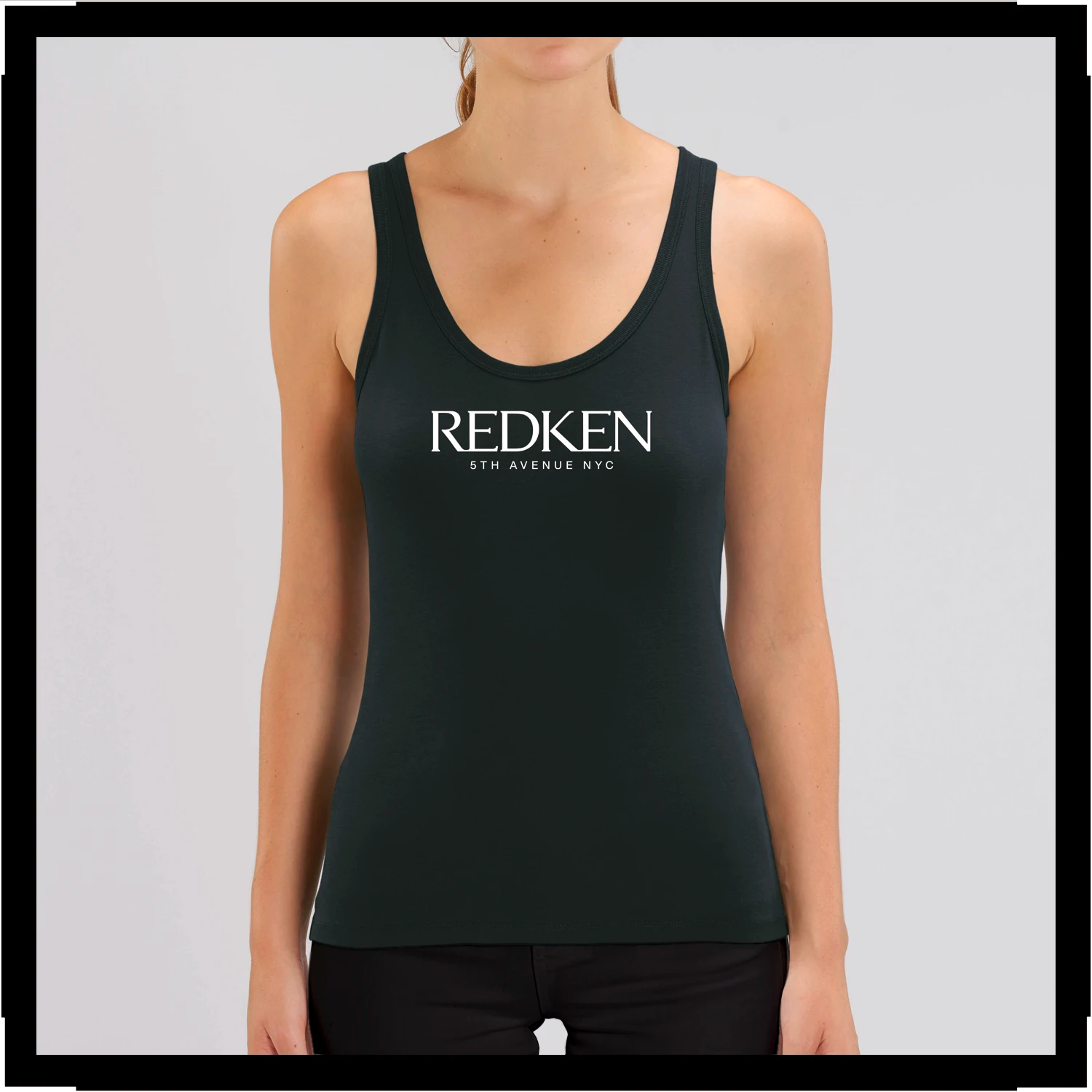 Sleeveless T-shirt Womens Redken Logo
