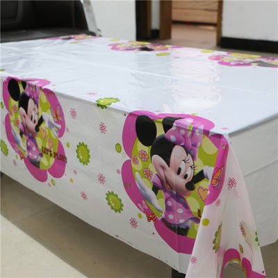 Birthday Party Decoration Table Cover