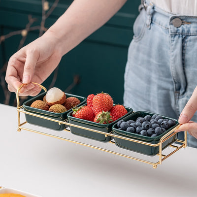 Luxury Creative Ceramics Serveware Snack Tray