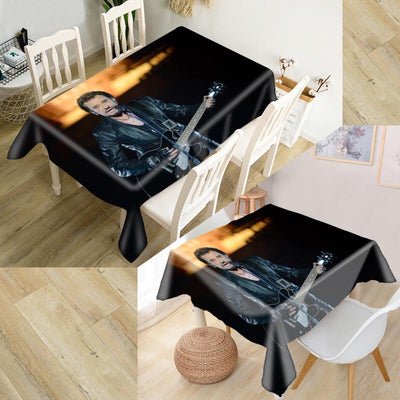 3D Oxford Fabric Dust-proof Party Table Cover