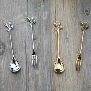Creative Gold Silver Plated Fork - Festivetown