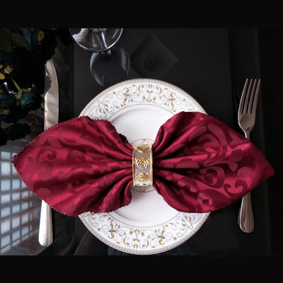 10pcs/lot Embroidered Decoration Colored Napkin