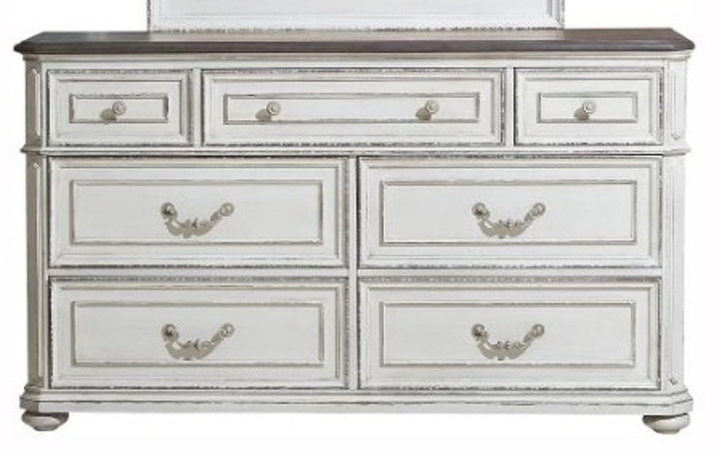 Homelegance Willowick Dresser in Antique White 1614-5 image