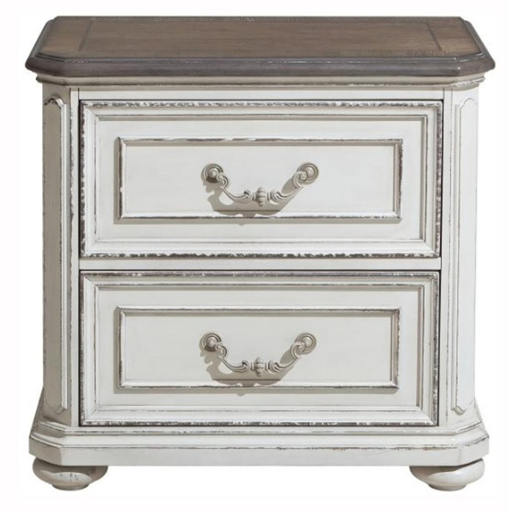 Homelegance Willowick Nightstand in Antique White 1614-4 image