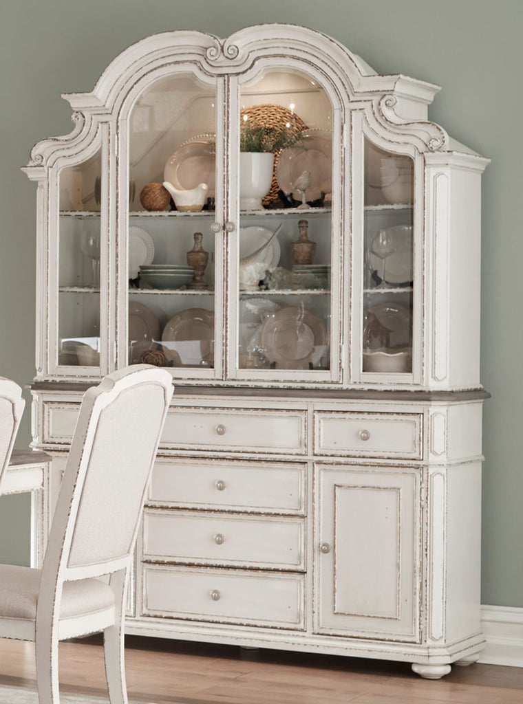 Homelegance Willowick Buffet and Hutch in Antique White 1614-50* image