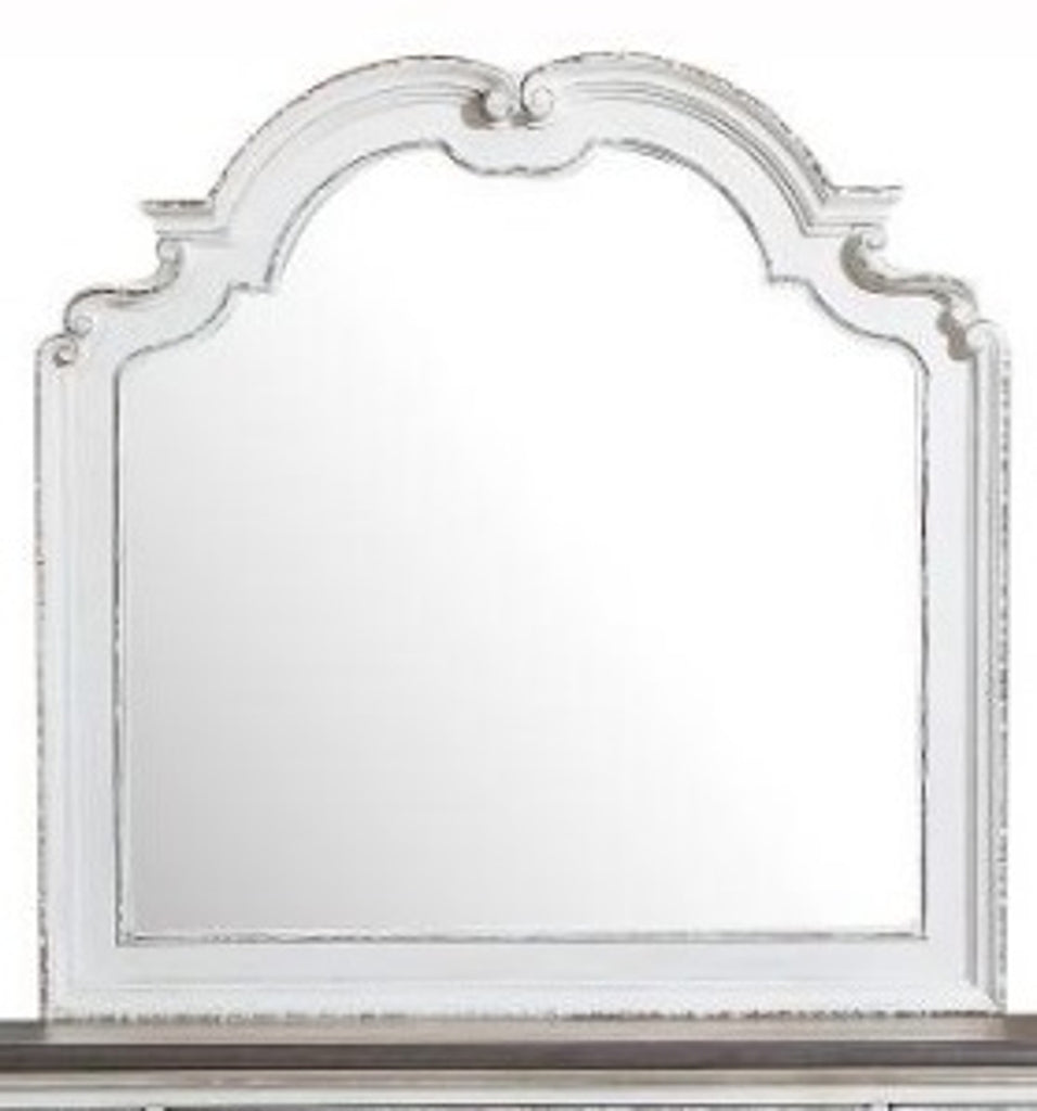 Homelegance Willowick Mirror in Antique White 1614-6 image