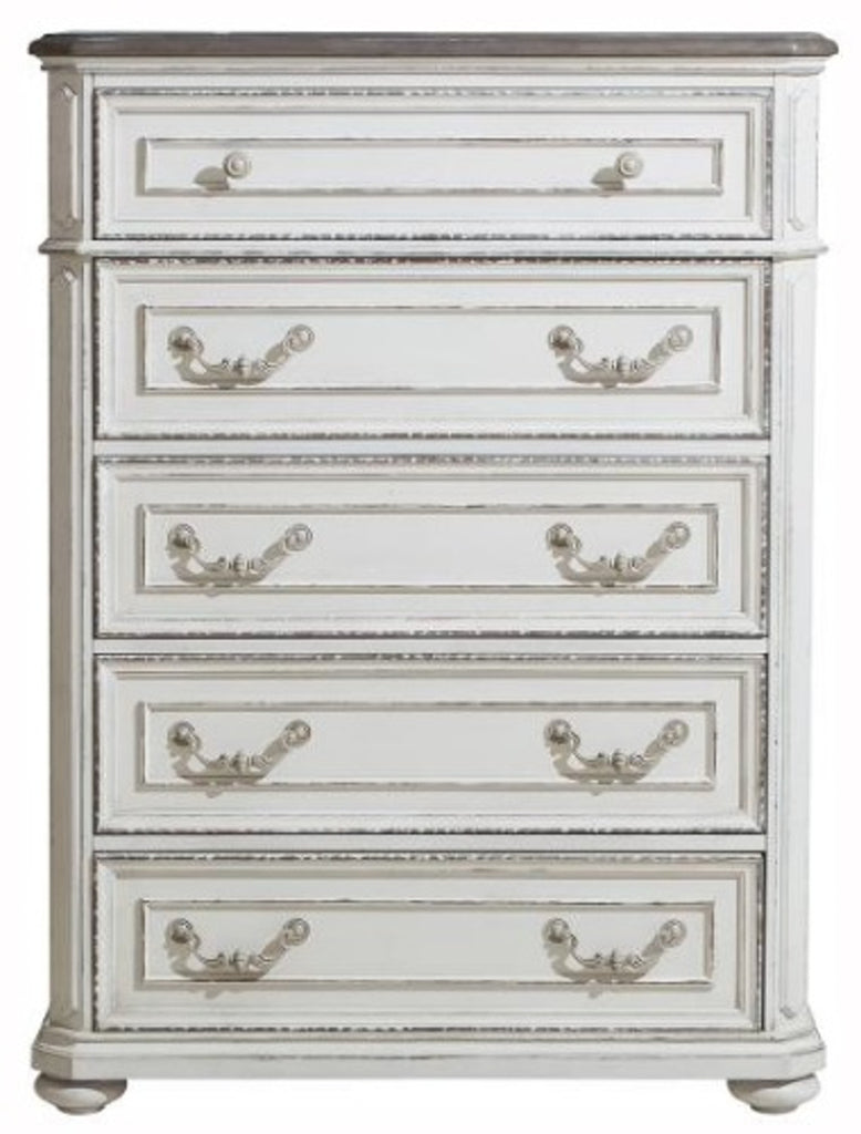 Homelegance Willowick Chest in Antique White 1614-9 image
