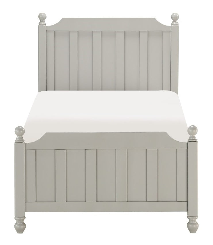 Homelegance Wellsummer Twin Panel Bed in Gray 1803GYT-1* image